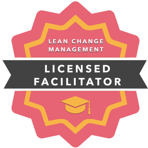 Lean Change Agent Facilitator Gold