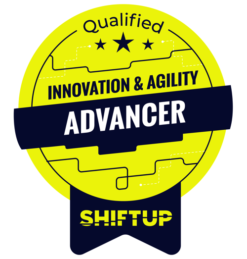 Shiftup Advancer Badge