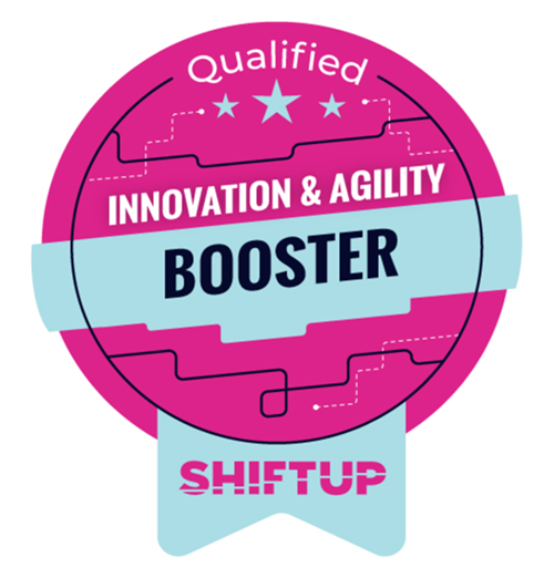 Shiftup Booster Badge